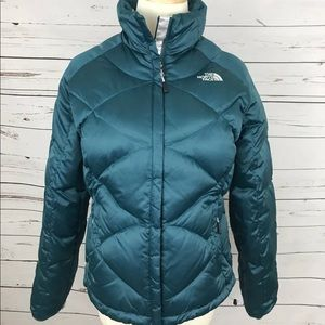 North Face Coat women's Teal colored